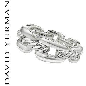 David Yurman Sterling Silver Ring, sz. 6.5